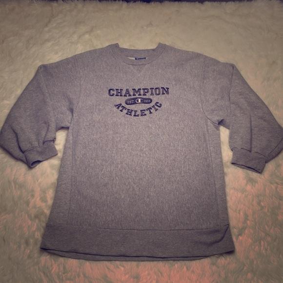 e60ffa6c Champion Shirts & Tops | Vintage Boys 1820 34 Sleeve Sweatshirt ...